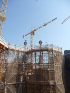 Sagrada Familia - Work continues