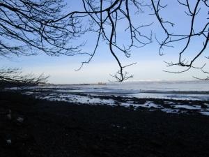 Black Ness Castle in Distance