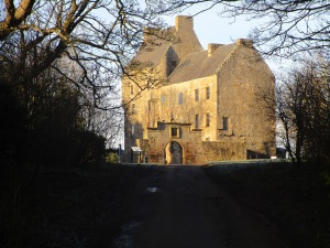 Mid Hope Castle In Hopetoun Estate
