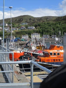 Boats at Mallaig Pier