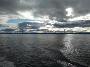 Turbines off Aberdeen